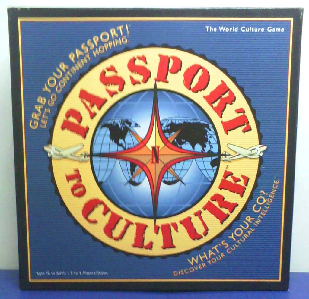 Passport to Culture Front