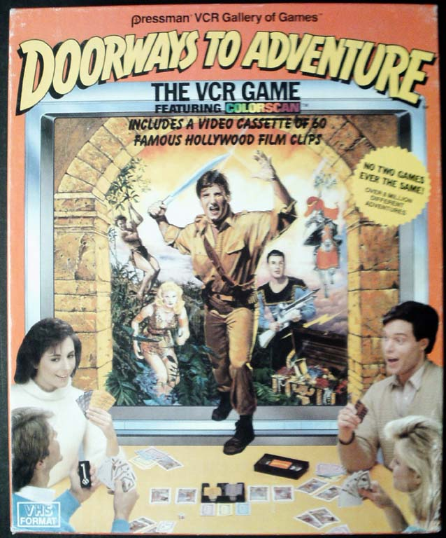 Doorways to Adventure VCR Game <cover>