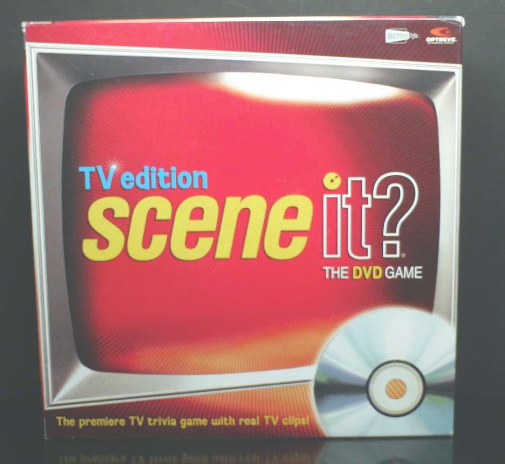 Scene it? TV Edition cover