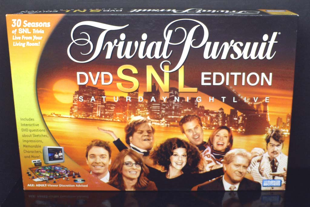Trivial Pursuit SNL <cover>